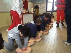lezione di primo soccorso
