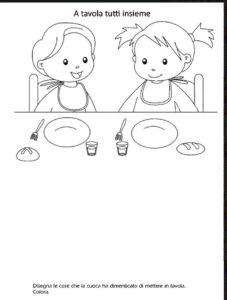 a tavola tutti assieme