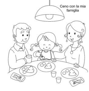 cena con famiglia